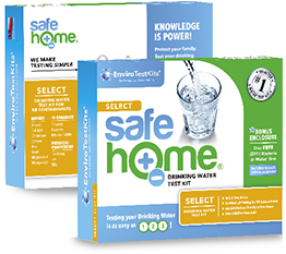 Do it yourself in home bacteria in drinking water test kit